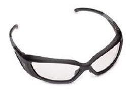 Revision Military Hellfly Ballistic Sunglasses - Black Frame/Clear - Ballistic Military Sunglasses