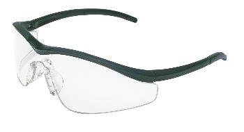 MCR Safety T1147 Triwear T1 Hybrid Temple Design Safety Glasses with Steel Frame and Silver Mirror Lens