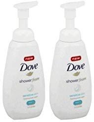 NEW Dove Shower Foam Sensitive Skin Body Wash 13.5 oz - 2-PACK ()