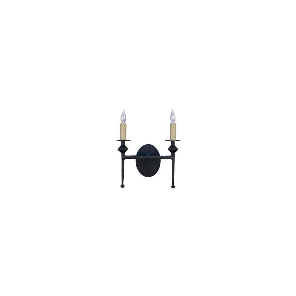 Stone County 904 261 AMB Forest Hill Iron Wall Sconce