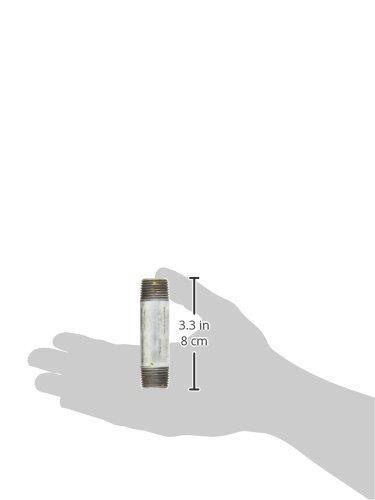 1//2 x 80 mm Multicolore Cornat VFB530128 Mamelon de tuyau galvanis/é