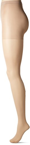Calvin Klein Matte - CK Women's Matte Sheer Pantyhose with Control Top, Buff, 02
