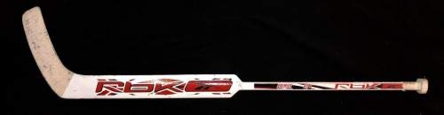 Jimmy Howard Signed Game Used Grand Rapids Griffins Goalie Stick Red Wings JSA Certified Autographed NHL Sticks