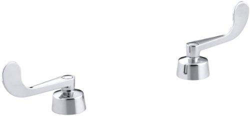 KOHLER 16012-5-CP Triton Wristblade Lever Handles, Polished Chrome,