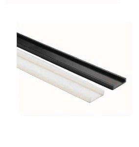 Kichler Lighting 12330WH Plastic Linear Track, White by Kichler Lighting
