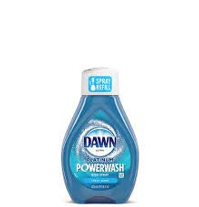 Dawn Platinum Powerwash Dish Spray – Fresh Scent Refill – 2 Pack