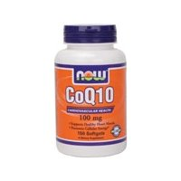 NOW Foods Coq10 100mg Softgels
