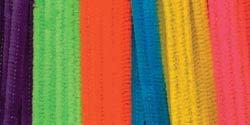 Bulk Buy: Darice Chenille Stems 6mm 12'' 100/Pkg Neon 1084-991 (6-Pack) by Darice