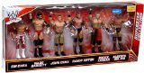 Mattel WWE Wrestling Exclusive Superstar Collection Action Figure 6-Pack Sin Cara Wade Barrett John Cena Randy Orton Brock Lesnar & Alberto Del Rio