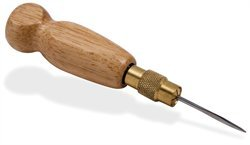 Tandy Leather Flat Side Awl Haft