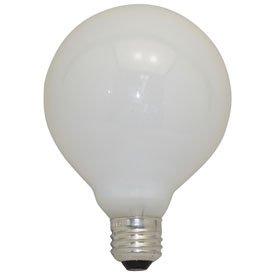 Replacement For 60G30/W 60W G30 WHITE MEDIUM BASE GLOBE Light Bulb 10 PACK