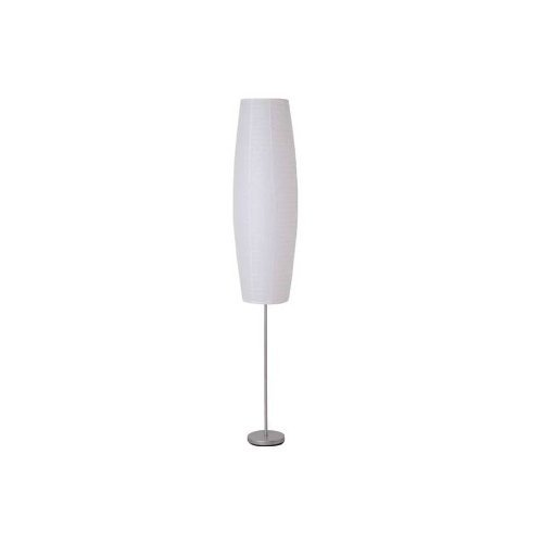 Style Selections 70-in 2-Light Rice Paper Floor Lamp with White Shade Item#352723 Model#17965-000 UPC# 022011613611