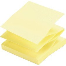 Adhesive Notes, Pop-up, Removable, 3