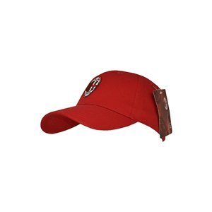 Ac Milan Official Core Football Crest Baseball Cap (one Size) (red) by Home Win