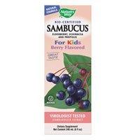 Nature's Way Sambucus Kids Syrup Berry — 8 fl oz