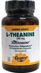 Country Life - L-Theanine Suntheanine Amino Acid - 60 Vegetarian Capsules