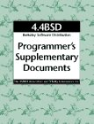 4.4bsd Programmer's Supplementary Documents (Psd), UC Berkeley Computer Systems Research Group, 1565920791