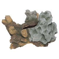 Ocean Star International AOSI90504 Medium Tree Stump with Rock