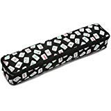 Mahjong Case - Mah Jongg Multi-Purpose (XL-Black) Tile/Rack Color Tile Zippered Case