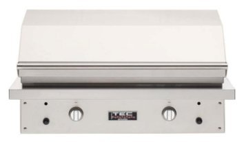 Fr Propane (Tec Patio Fr 44-inch Built-in Infrared Propane Or Natural Gas Grill - PFR2LP Or PFR2NT - With FREE Cover From Premier Grilling (44