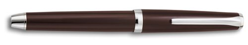 Pilot Metal Falcon Brown Soft Flexible Nib designed by Namiki Fine Point Fountain Pen - P60572 by Pilot