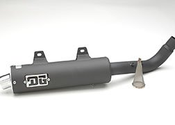 DG PERFORMANCE 051-4180 Sport Series Slip-On Exhaust by DG Performance