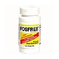 Fosfree Phosphorous Free Iron, Calcium and Multivitamin Supplement - 120 Ea