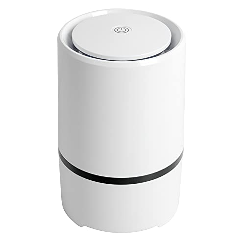 HEPA Air Purifier, Air Cleaner with Filtration System, 30db Ultra Silent for Bedroom or Children's Room, 5 million…