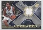 Jameer Nelson (Basketball Card) 2006-07 SPx - Flashback Fabrics #FF-JN