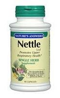NATURE'S ANSWER, NETTLE LEAF 900MG 90 CAP EA 1