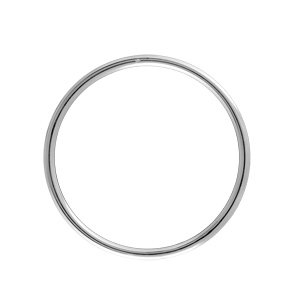 1001 Bijoux - Bracelet jonc argent massif diamètre 60mm