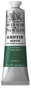 Griffin Alkyd Fast Drying Oil, 37ml tube, Burnt Sienna