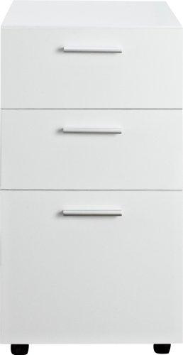 Ameriwood Storage Hutch - Ameriwood Home 9531196 Princeton Mobile File Cabinet, White