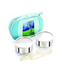 Cello Get Eat 2 Container Lunch Packs, Blue