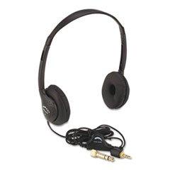 Personal Multimedia Stereo Headphones - (3 Pack Value Bundle) APLSL1006 Personal Multimedia Stereo Headphones w/Volume Control, Black