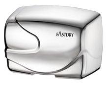 Fastdry HK2200RA Hand Dryer 120volt - Aluminum cover bright chrome finish