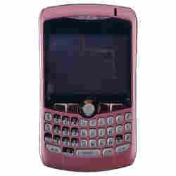Housing (Complete) for BlackBerry 8300, 8310, 8320 Curve (Pink)