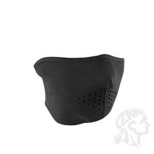 Zan Headgear Half Mask, Neoprene, Tactical, 4.0mm Thickness, Black
