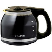 Mr. Coffee PLD12-2 MR. COFFEE 12-Cup Replacement (12 Cup Black Replacement Decanter)