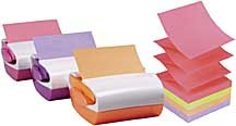 3M PRO330-FE-WC Sweet Pea pop-up 3D dispensers and Notes