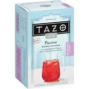 Tazo Iced Passion Tea, 6ct(Pack of 2) by Tazo Iced