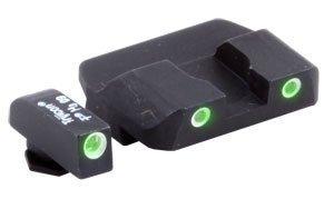 Night 3 Green Dot Sights (AmeriGlo Glock Tritium Sight, Pro Series Night Sights, 3 DOT Green/Green, Model # GL-233)