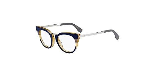 Palladium lunettes Bordeaux de Palladium Fendi Yellow Grey Pour Blue Femme H2N Grey 0115 Montures q8SWSAp