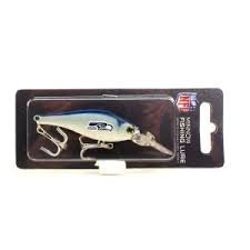 (NFL Officially Licensed Sports Collector's Series Minnow Fishing Lure (Seattle Seahawks))