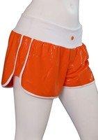 Short Blanc et Orange Brillant - M - Susana Gateira