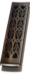 Decor Grates SPH212-RB 2-Inch by 12-Inch Scroll Floor Register, Oil Rubbed Bronze Scroll Design- by Decor Grates