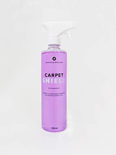 Carpet Shield - Easy Spray Salt Remover - Car & Boat Carpet Cleaner - Removes White Salt Build Up & Dirt On Carpet & Footwell Area - Protects Carpet - No Water Required