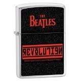 Nfl Revolution Pocket - Zippo The Beatles Revolution Pocket Lighter (Black, 5 1/2 x 3 1/2 cm)