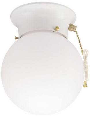 Ace Pull Chain - Westinghouse Lighting 6668000 Ceiling Light With Pull Chain, White