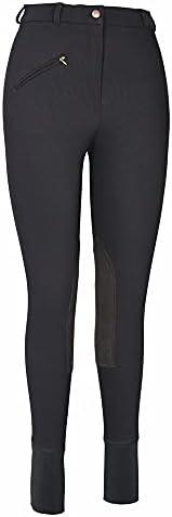 TuffRider Women's Ribb Knee Patch Breeches (Regu